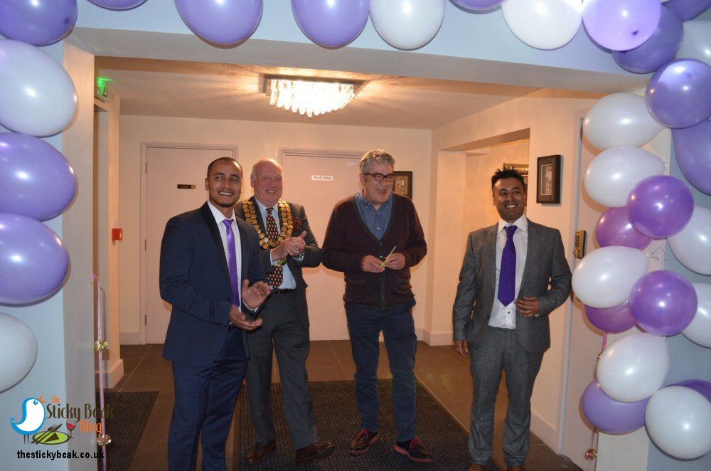 Official Opening Of The Curry Lounge Somercotes Photo On