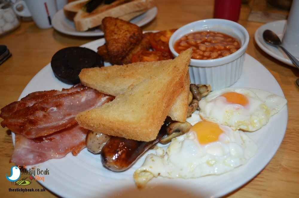 Mediterranean Breakfast At Cafe G In Belper | Review On The