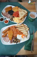 Breakfast At Blueys Aussie Steakhouse, Alfreton
