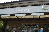 Lunch At Hassop Station nr Bakewell