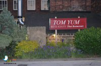 Dinner At Tom Yum Thai in Belper