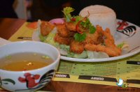 Dinner At Thaikhun, INTU Victoria, Nottingham