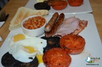 Breakfast At Marsh Green Farm, Ramblers Rest Cafe