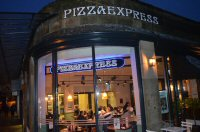 Dinner At Pizza Express in Buxton