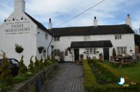 Easter Sunday Lunch at The Three Horseshoes, Long Lane Village