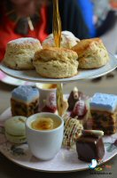 Afternoon Tea At The Flying Childers Tea Rooms