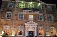 Opening Night At The Greyhound, Cromford