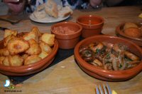 Dinner At Lorentes Tapas Bar in Derby