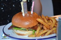 Birthday Burgers At Hide Burger Bar in Derby