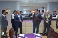 Official Opening Of The Curry Lounge, Somercotes
