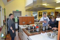 Making Canapes and Finger Food at Coghlans Cookery School
