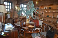 Lunch At The Anteaque Bee Cafe, Derwentside Shopping Mill, Belper