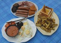 A Big Breakfast From The Shepherds Rest, Bagthorpe