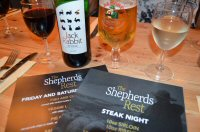 A Flock Night Out For Steak Night At The Shepherds Rest