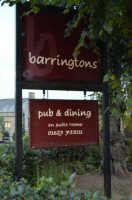 Eat Out To Help Out At Barringtons, Darley Dale