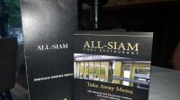 Dinner At The All Siam Thai On Eccleshall Road, Sheffield