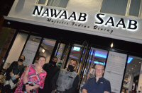 Catching Up With Friends At Nawaab Saab Indian In Nuthall