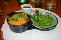 A Family Dinner At The Merchant's Yard in Tideswell