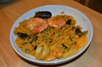 A Delivery Of Paella and Tapas from La Valenciana In Heanor